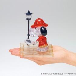 SNOOPY 偵探 水晶 3D PUZZLE(日版)