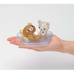 鬆弛熊 小白熊 水晶 3D PUZZLE (港版)