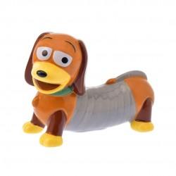 日本  SLINKY DOG 彈簧狗 陶瓷貯金箱