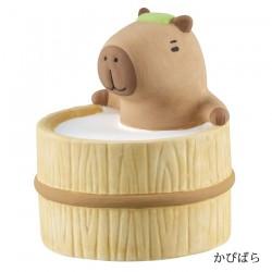 日本 DECOLE 動物風呂 陶瓷 香薰石 (水豚)