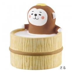 日本 DECOLE 動物風呂 陶瓷 香薰石  (猴子)
