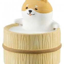 日本 Decole 動物風呂 陶瓷 香薰石 (柴犬)