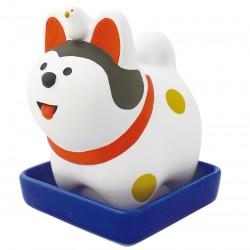 日本 Concombre 陶瓷 加濕器 開運 犬張子