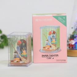 PAPER THEATER 魔女宅急便 場景紙模型
