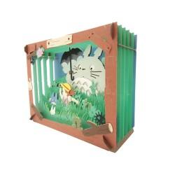 PAPER THEATER 龍貓 次子 場景紙模型